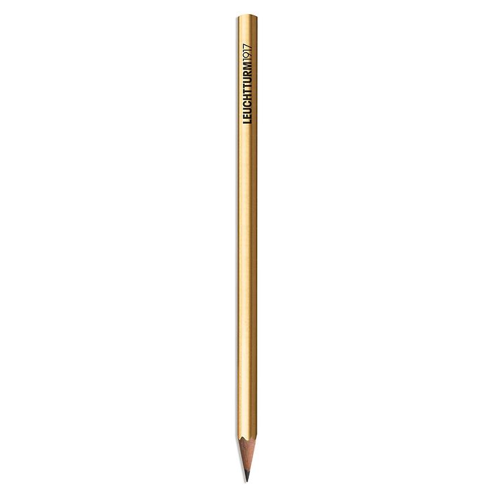 Pencil HB, LT1917, gold