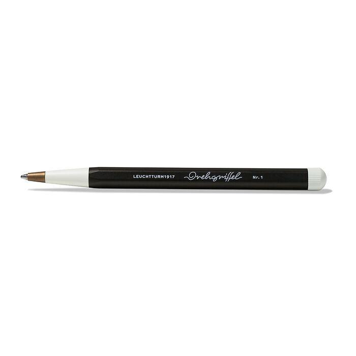 Drehgriffel Nr. 1, Black - Ballpoint pen with royal blue ink