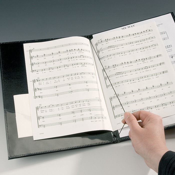 Music Portfolio, leatherette