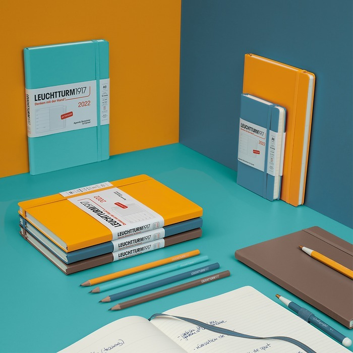 Weekly Planner & Notebook 2022, 12 months FRENCH