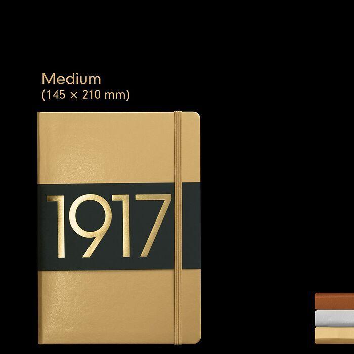 1917 Metallic Edition Notebooks Medium