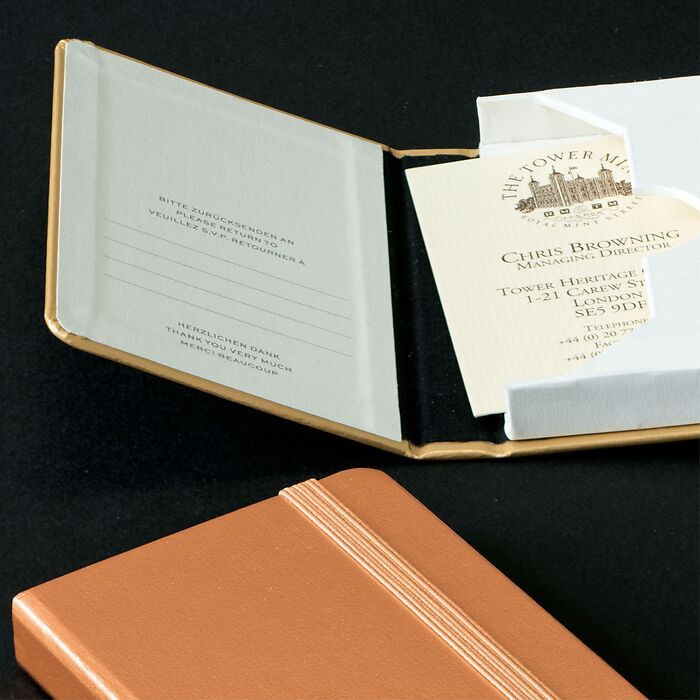1917 Metallic Edition Business card case