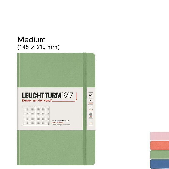Muted Colours – Hardcover Notebooks